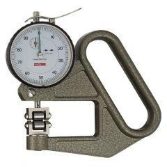 Grubościomierz zegarowy J 50 R 0-5/0.01mm końcówki rolkowe